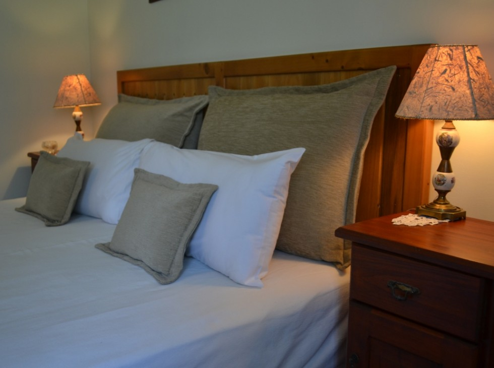 Suite 1 detalle cama