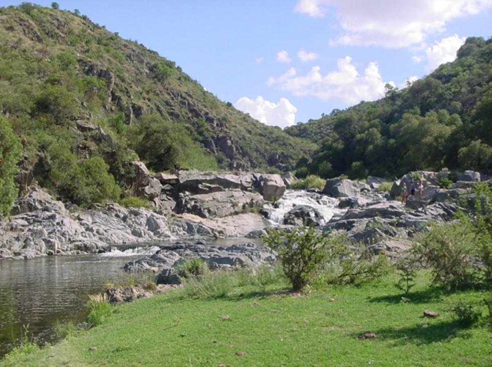 Rio Candelaria cascadas